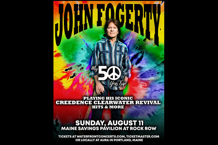 John Fogerty is coming to Westbrook! – Stephen King's Rock Station